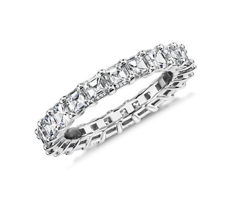 Eternity Band - Asscher Cut Diamond (3 ct tw)