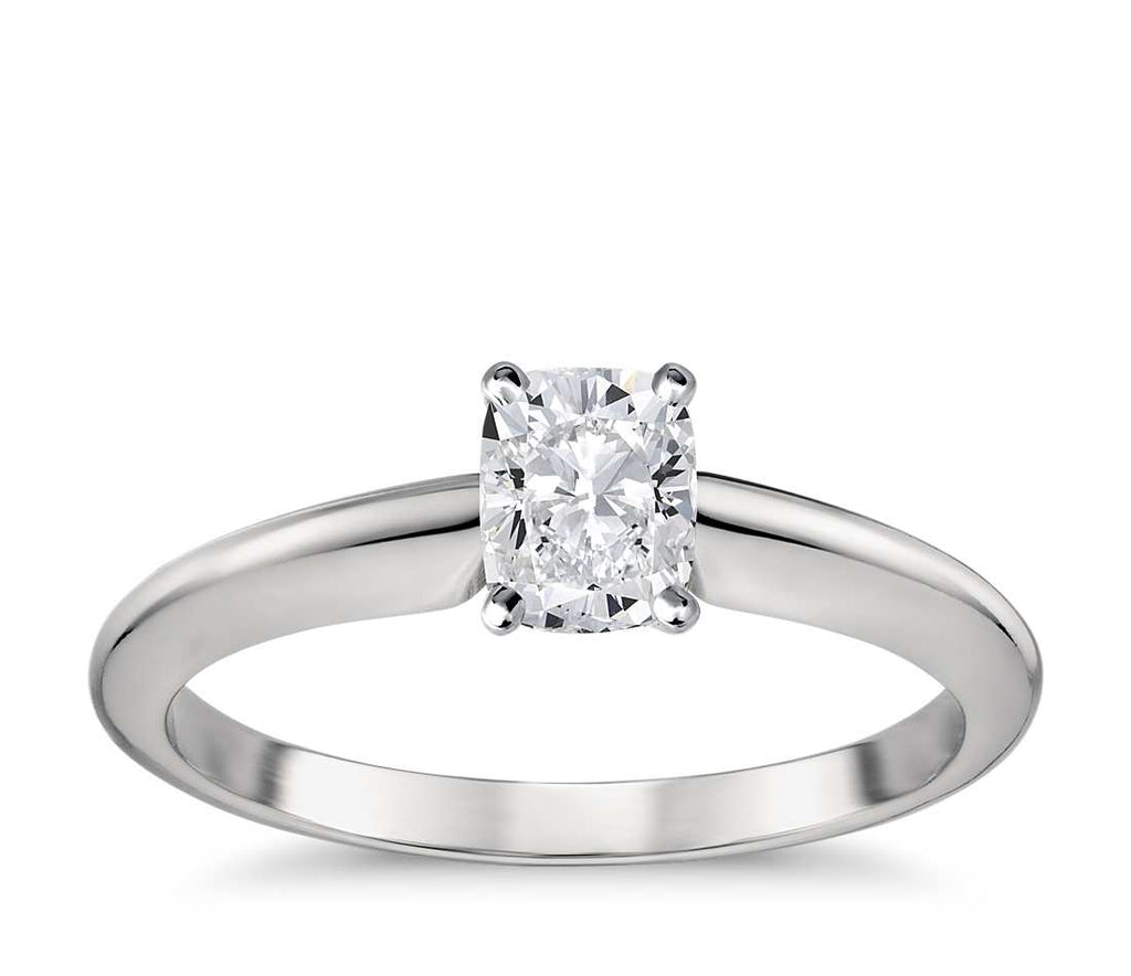 Engagement Ring - Classic Four-Prong Cushion