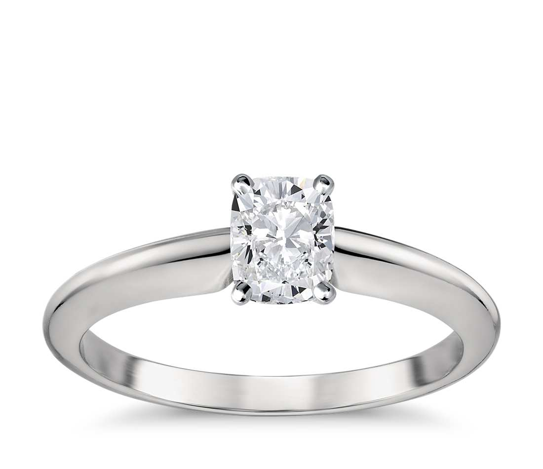 Engagement Ring - Classic Four-Prong Emerald