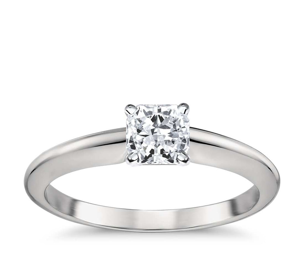 Engagement Ring - Classic Four-Prong Radiant