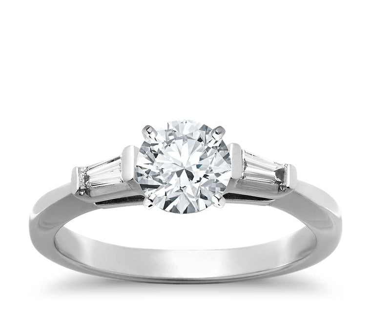 Engagement Ring - Three Stone Round Cut
