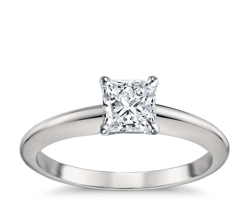 Engagement Ring - Classic Four-Prong Asscher