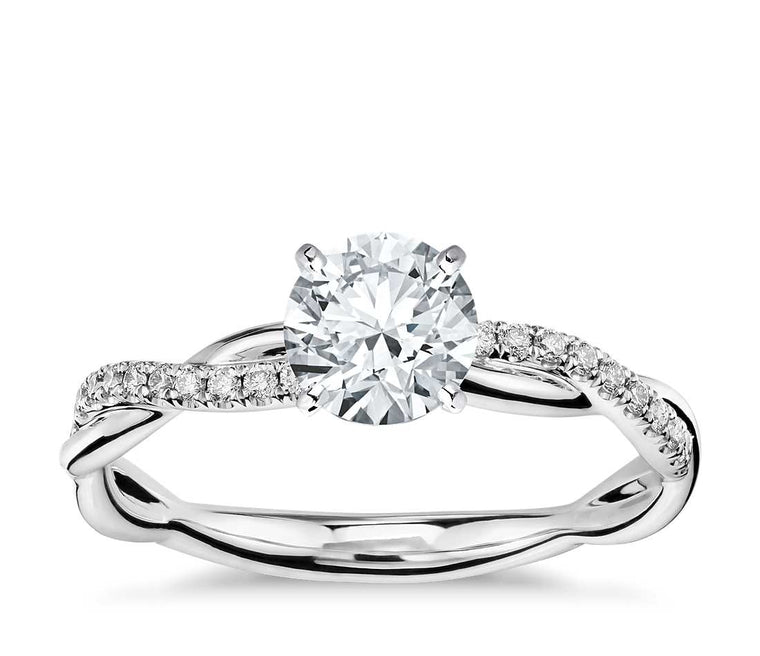 Engagement Ring - Vintage Round Cut