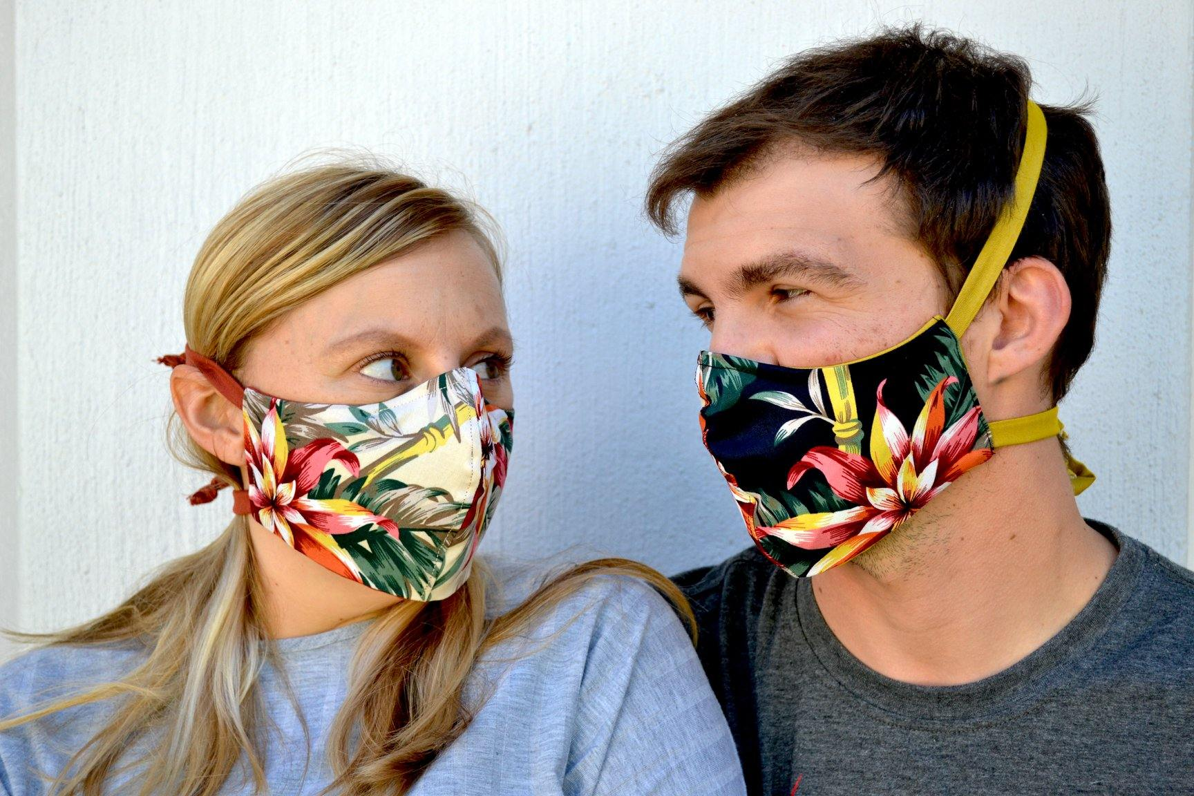 5 Tips for keeping cool in a mask and a head start on a sustainable wardrobe.