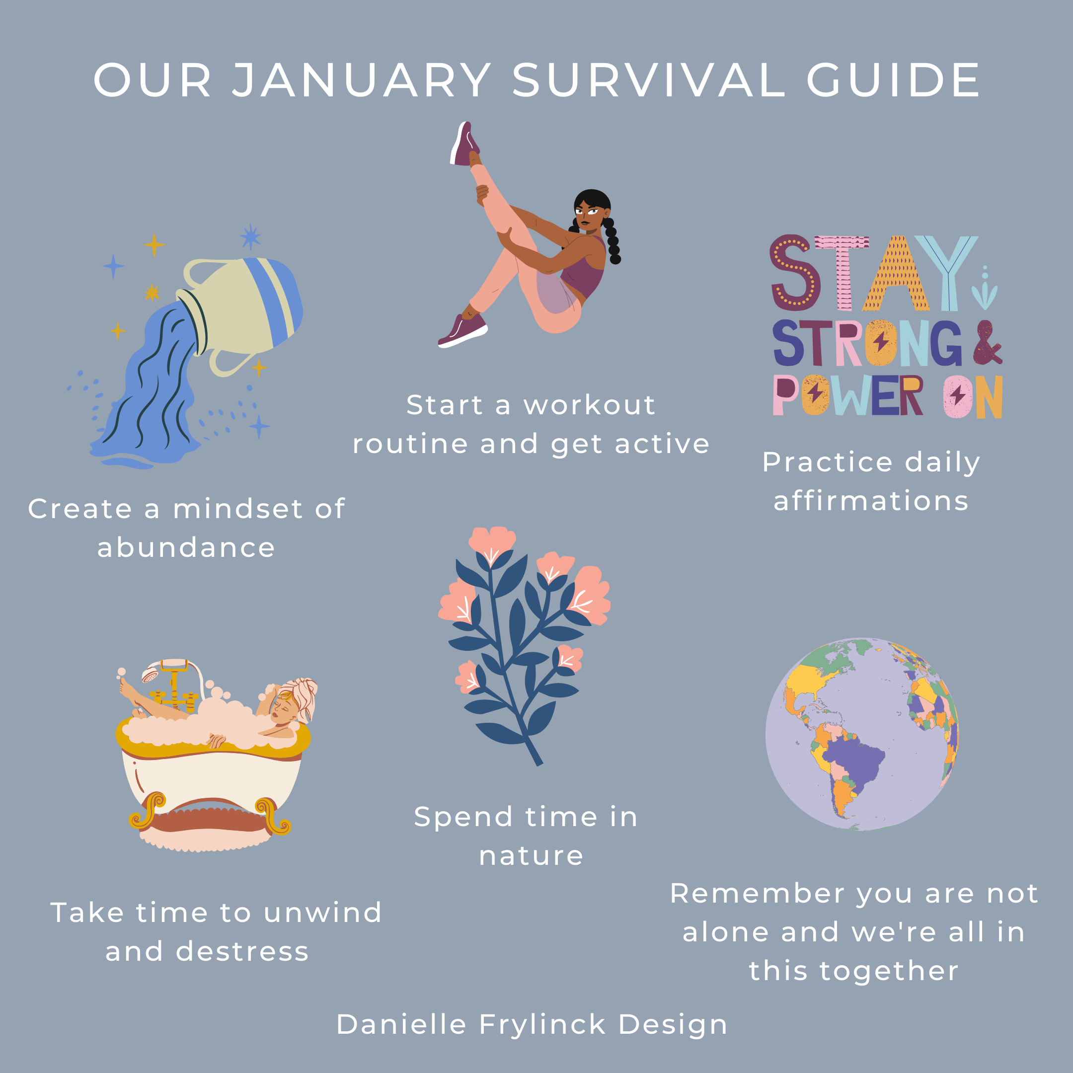 January 2021 survival guide