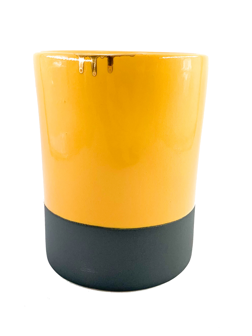 Yellow Burst Vase