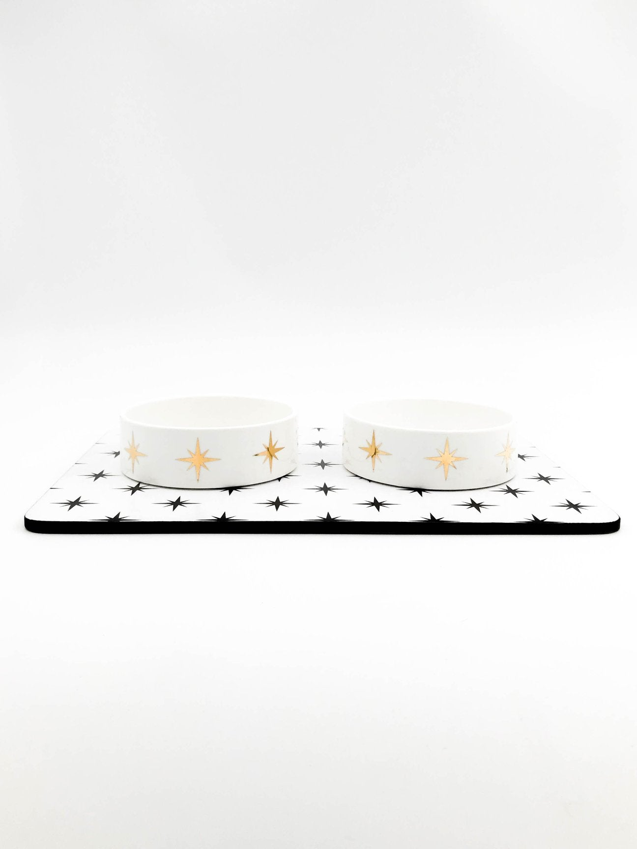 Small Dog Bowl Set - Stars