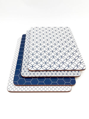 Blue And White Placemat Set - Danielle Frylinck Design
