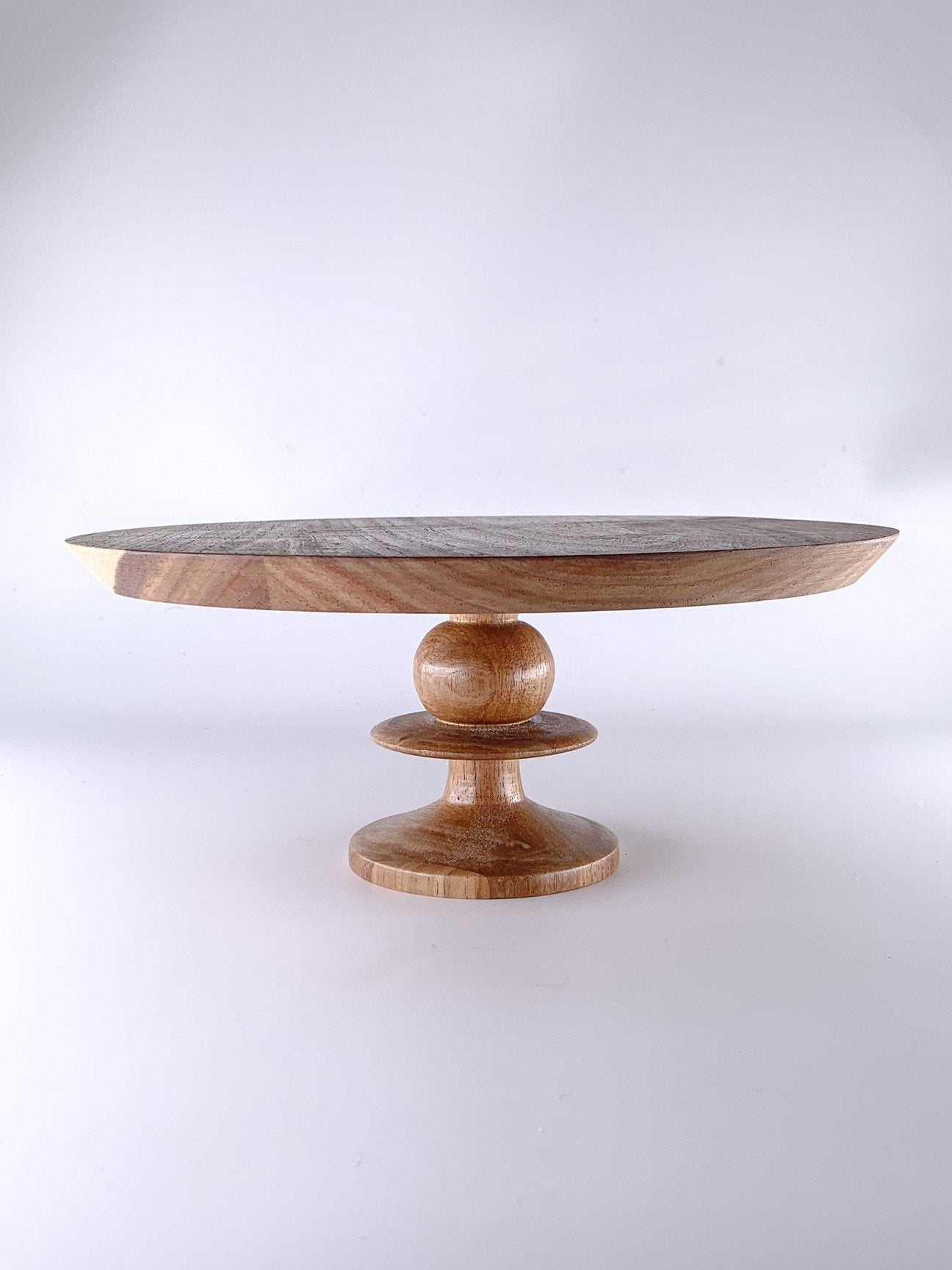 Small Cake Stand Kiaat