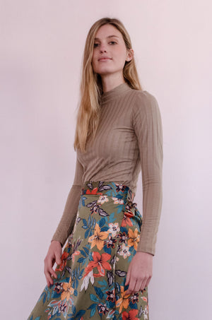 Tulip Wrap Skirt