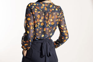 Autumn Poppy Aurora Top - Danielle Frylinck Design