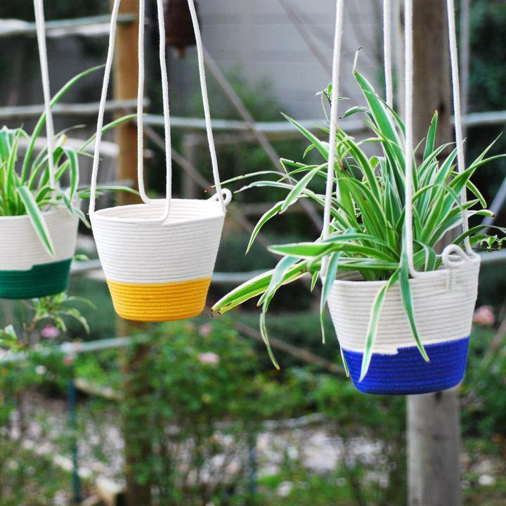 Hanging Planter M - Royal Blue - Danielle Frylinck Design