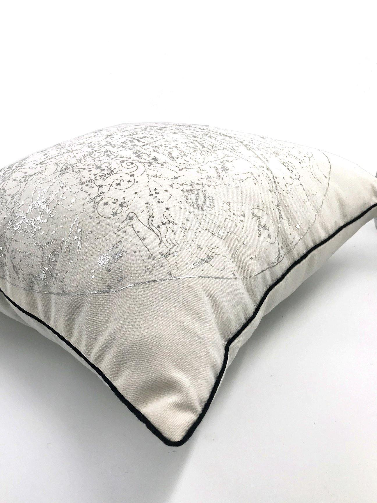 Celestial Scatter Cushion Silver