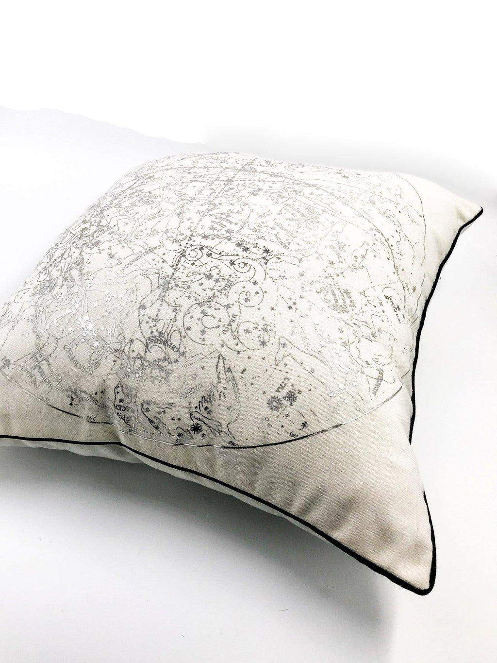 Celestial Scatter Cushion Silver - Danielle Frylinck Design