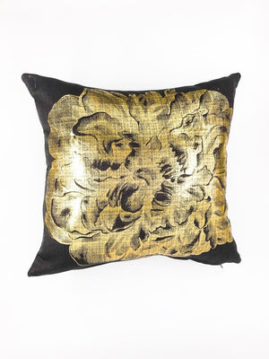 Peony Gold Scatter Cushion
