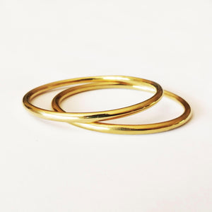 Ndebele Bangle - Brass