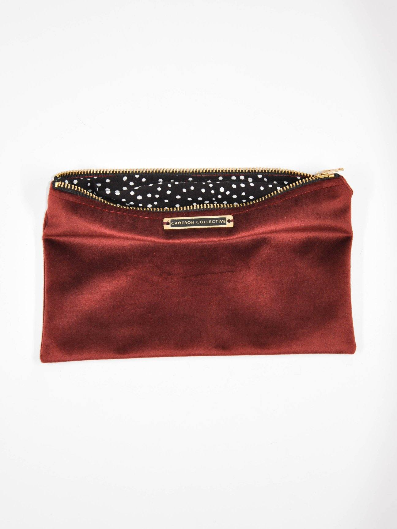 Magic velvet Zip Bag