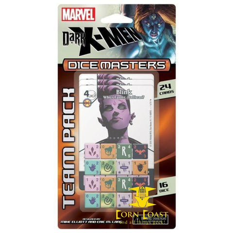 Marvel Dice Masters: Dark X-Men Team Pack - Corn Coast Comics