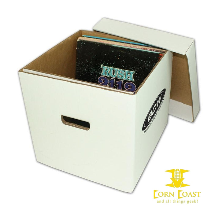 BCW 33 RPM VINYL RECORD STORAGE BOX - Corn Coast Comics