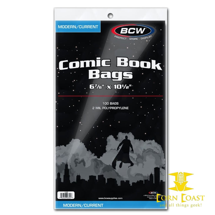 CURRENT COMIC BAGS - Corn Coast Comics