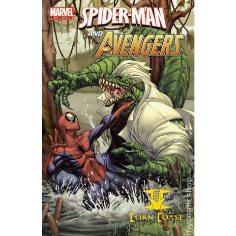 Marvel Universe Avengers: Spider-Man and the Avengers TPB (2012 Marvel Digest) - Corn Coast Comics