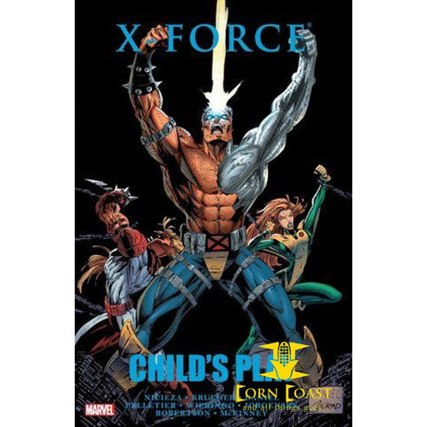 X-Force Child's Play Premiere Edition Hardcover - Corn Coast Comics
