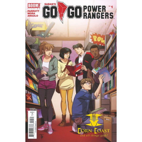 Sabans Go Go Power Rangers #1 Cover H Incentive Marcus To Thank You Variant Cover NM