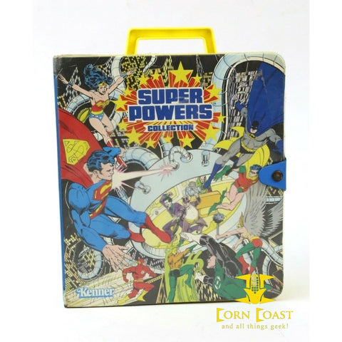 1984 Kenner Super Powers Collection Action Figure Carrying
