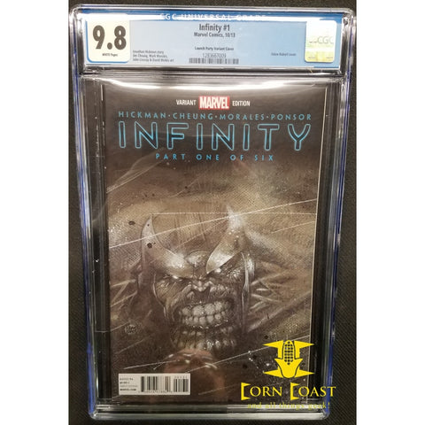 Infinity (2013 Marvel) #1PARTY CGC 9.8 - Corn Coast Comics