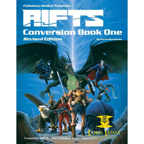 Palladium Rifts Conversion Book - Corn Coast Comics