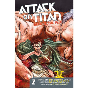 Attack on Titan Before the Fall - Corn Coast Comics
