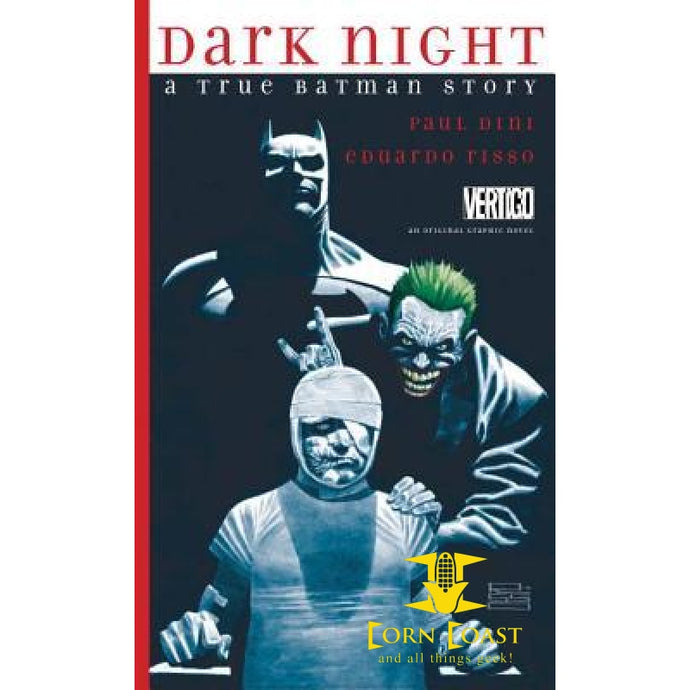 Dark Night: A True Batman Story HC - Corn Coast Comics