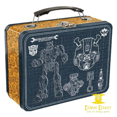 Transformers Bumble Bee Large Tin Tote lunchbox