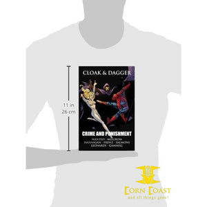 Cloak & Dagger: Crime and Punishment Hardcover HC - Corn Coast Comics