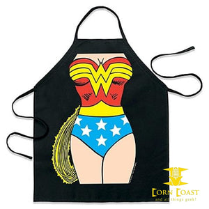 ICup Wonder Woman Be-the-Character Apron - Corn Coast Comics