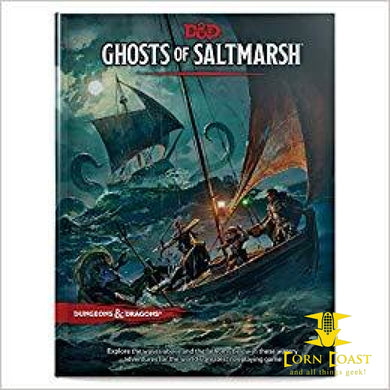 D&D Ghosts of Saltmarsh 5e