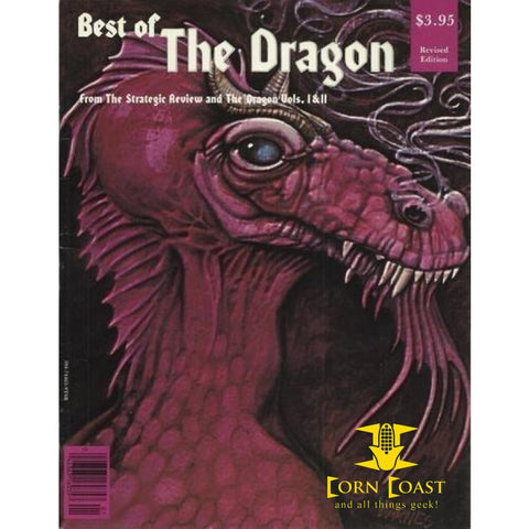 Best of Dragon Magazine/from the Strategic Review and the Dragon, Vols I and II Paperback - Corn Coast Comics