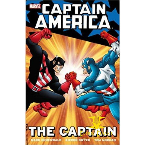 Captain America: The Captain Paperback TPB - Corn Coast Comics