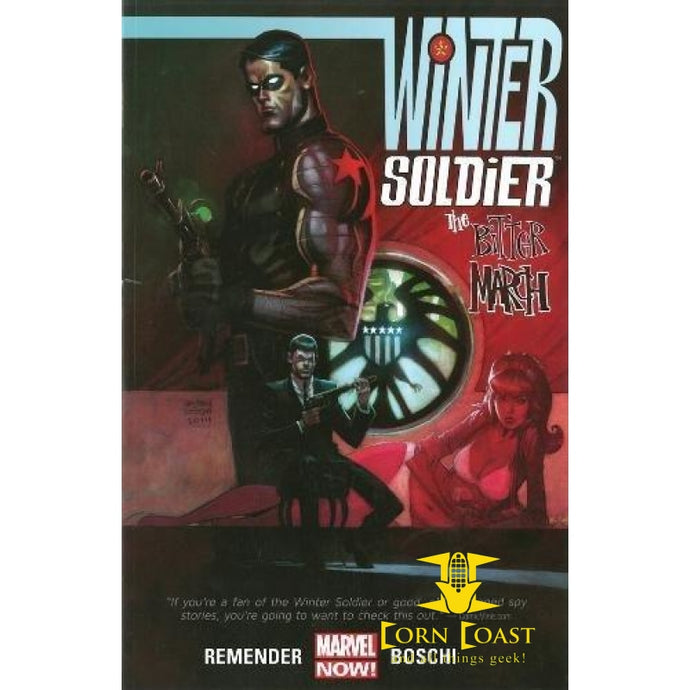 Winter Soldier: The Bitter March Paperback - Corn Coast Comics