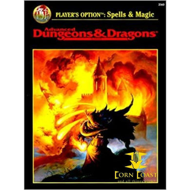 AD&D player's Option Spells and Magic Used - Corn Coast Comics