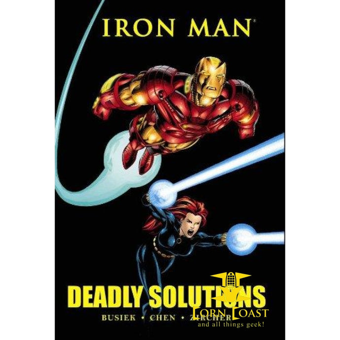 Iron Man: Deadly Solutions (Marvel Premiere Classic) Hardcover - Corn Coast Comics