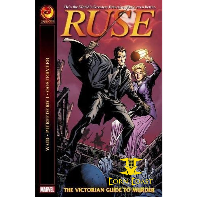 Ruse: The Victorian Guide to Murder Paperback - Corn Coast Comics