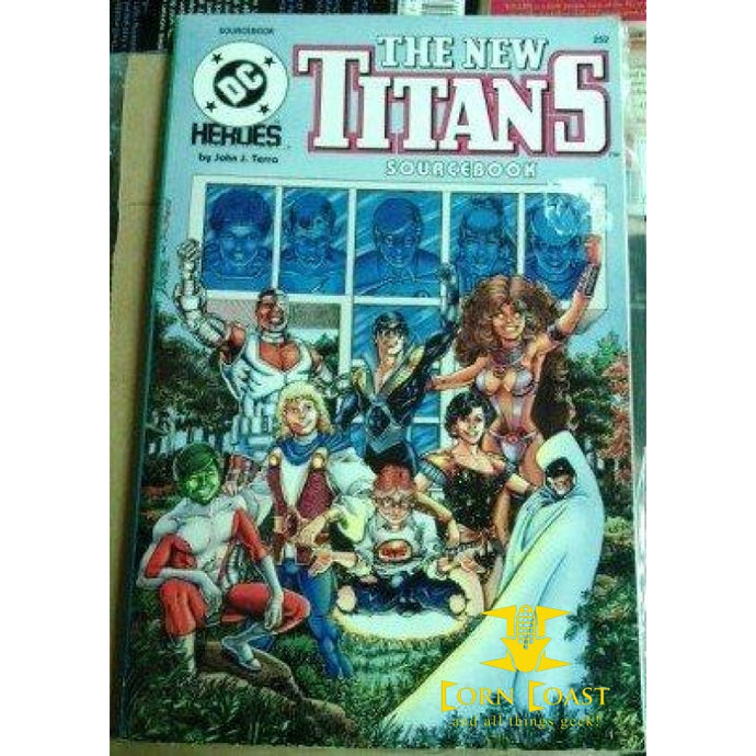 DC Heroes The Titans Sourcebook by Mayfair Games