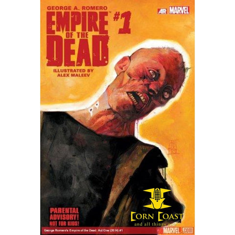 George Romero's Empire of the Dead: Act One Paperback - Corn Coast Comics