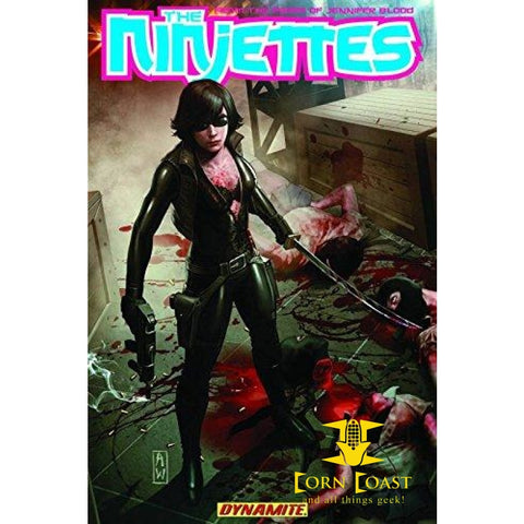 The Ninjettes TPB - Corn Coast Comics