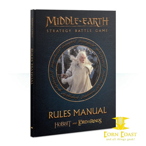 Middle-Earth™ Strategy Battle Game Rules Manual HC - Corn Coast Comics