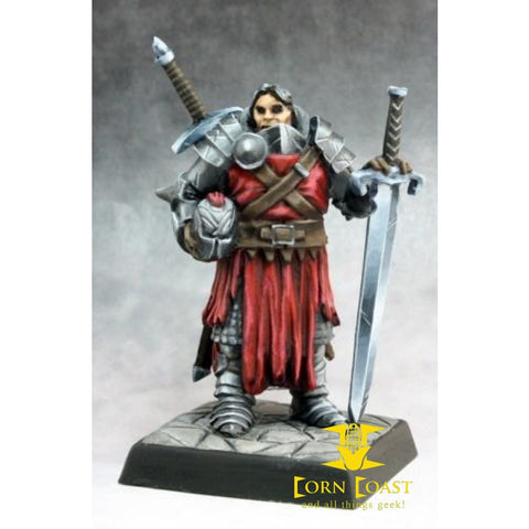 Mendevian Crusader Pathfinder mini - Corn Coast Comics