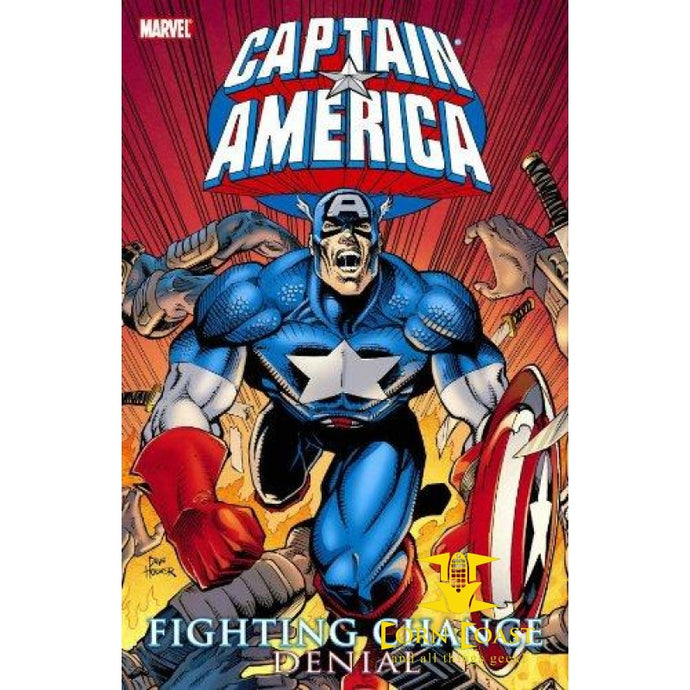 Captain America: Fighting Chance - Denial Paperback TPB - Corn Coast Comics