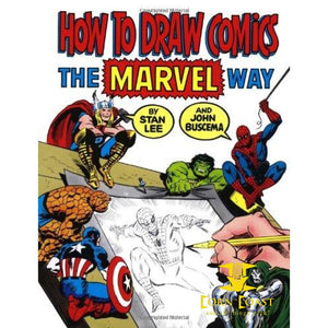 How To Draw Comics The Marvel Way Paperback - Corn Coast Comics