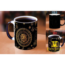 Fantastic Beasts and Where To Find Them Magical Symbol Pattern Heat Reveal Ceramic Coffee Morphing Mug - Corn Coast Comics
